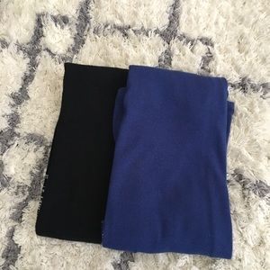 SO Cobalt and Black Fitted Tank Tops {2}
